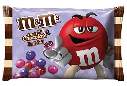 M&M'S Valentine's Triple Chocolate Candy 9.9 Oz (280.7g)