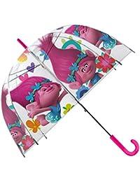 Kids Trolls Paraguas Clásico, 66 cm, ...