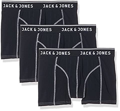 JACK & JONES Herren Boxershorts Jacbristol Trunks 3 Pack 3 Blau (Navy Blazer Detail:Navy Blazer and Navy Blazer),