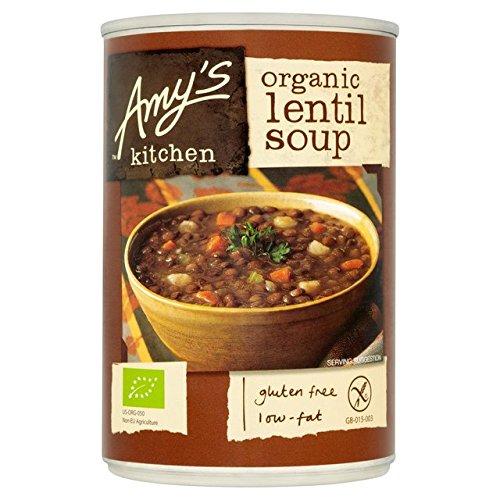 Preisvergleich Produktbild Amys Küche Low Fat Linsensuppe 400g