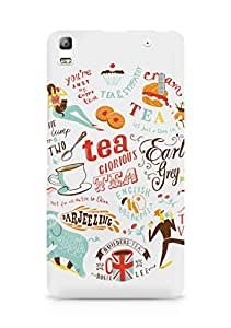 Amez designer printed 3d premium high quality back case cover for Lenovo K3 Note (Migyy tea art illust painting)