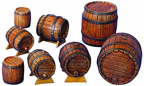 Plus model , 204, botti di legno scala 1:35, ecru