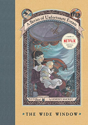 A Series of Unfortunate Events #3: The Wide Window por Lemony Snicket