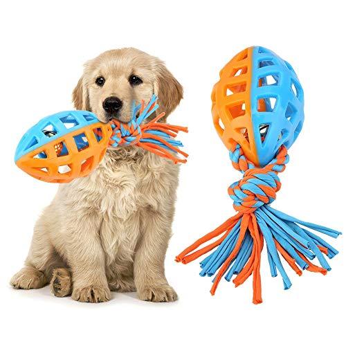 Pssopp Palla Giocattolo per Cani con Corda, Palla per Cani con Cordino, Giocattoli per Cani interattivi per la Cura Dentale dei Cani per IQ Training Animale Domestico Gioco per Masticare