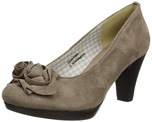 Hirschkogel by Andrea Conti 3000518, Damen Pumps Braun (taupe 066)
