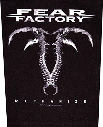 Fear Factory Mechanize Back Patch ' by Fear Factory