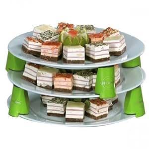 Espace assiettes par 9 (4.15 cm)