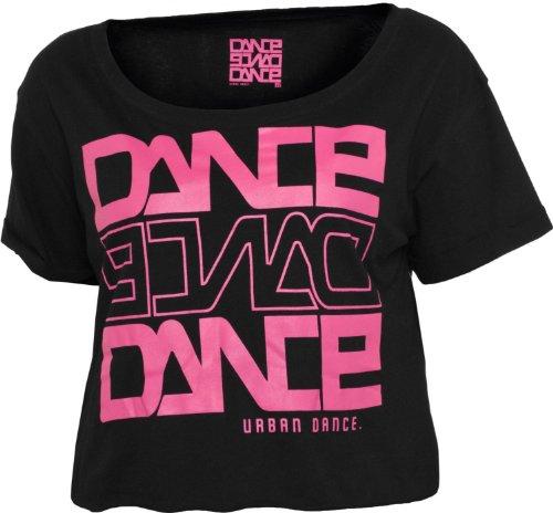 Urban Dance Short Dance T-Shirt UD001 Schwarz