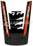 Tankschutzaufkleber Gel 3d kompatibel für Motorrad ktm 1290 Super Adventure s-r