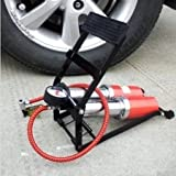 Best Tire Air Compressor - Diswa Foot Air Pump Heavy Compressor Cylinder Bike,Car,Cycles, Review