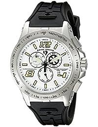 SWISS LEGEND Sprint Racer Men's 47mm Chronograph Rubber Quartz Watch 10040-02S