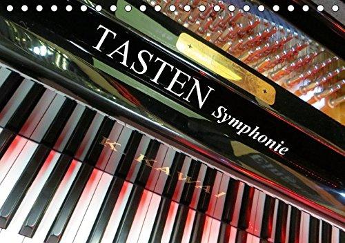 TASTEN Symphonie (Tischkalender 2019 DIN A5 quer): Tasteninstrumente aus ungewohnten Perspektiven fotografiert. (Monatskalender, 14 Seiten ) (CALVENDO Kunst)