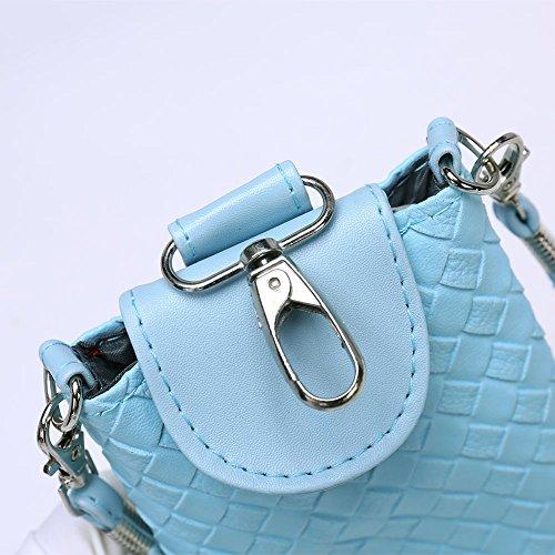 Faysting EU donna borselino borsa a tracolla borsa a spalla borsa a cellulare piccola forma fashion stile conveniente pelle materiale buon regalo san valentino E