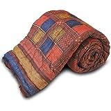 Little India Cotton Single Quilt - Multicolour