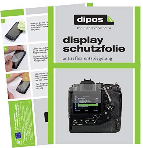 dipos I 6X Schutzfolie matt passend für Olympus OM-D E-M1X Folie Displayschutzfolie