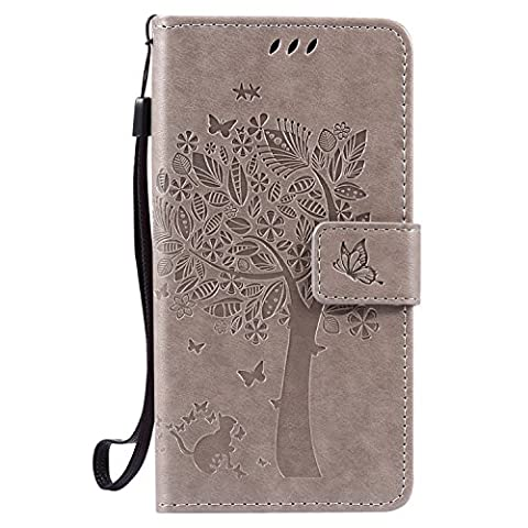 LG X Power Wallet Case Cover - Cozy Hut [New