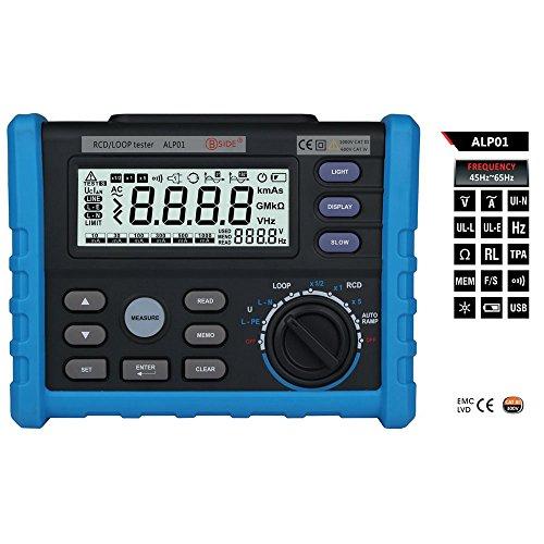 Olymstore ALP01 LOOP/RCD Tester/Widerstand Messgerät/Isolationsmessgerät/ Insulation Resistance Tester Meter 0-2000Ω