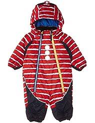 Kozi Kidz Snowflake - Traje de esquí para niño, color rojo, talla 80 cm