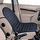 Komfortable beheizbare Sitzauflage in schwarz für jeden Autositz 12 V Sitzheizung Heizkissen
