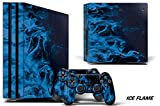 PS4 Pro Console + Controller Skin - Ice ...