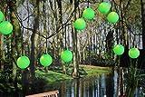 Outdoor 25 Lampions Lichterkette SYSTEM EXPO 50 LED GRÜN