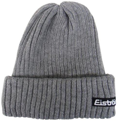 Eisbär Mütze Ripp, graumele, 387501