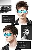 - 513y fPVmgL - SIPLION Herren Sport Polarisierte Treiber Glasses Sonnenbrillen Al-Mg Metallrahme Ultra leicht