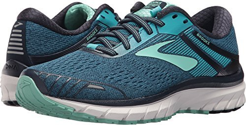 Brooks Adrenaline GTS 18, Zapatillas de Running para Mujer, Azul (Navy/Teal/Mint 495), 38.5 EU