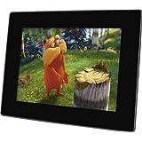 Rollei Designline 6100 digitaler Multi-Media Bilderrahmen (24,6 cm (9,7 Zoll) TFT-LED-Display, 4GB interner Speicher) schwarz