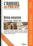 Telecharger Livres Bordereau de Prix BTP Artisans et Entreprises Gros oeuvre Hors Eau Hors Air (PDF,EPUB,MOBI) gratuits en Francaise