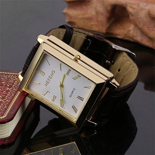 Ulable multifonction Horloge stabilité coupe-vent sans flamme allume-cigare montre