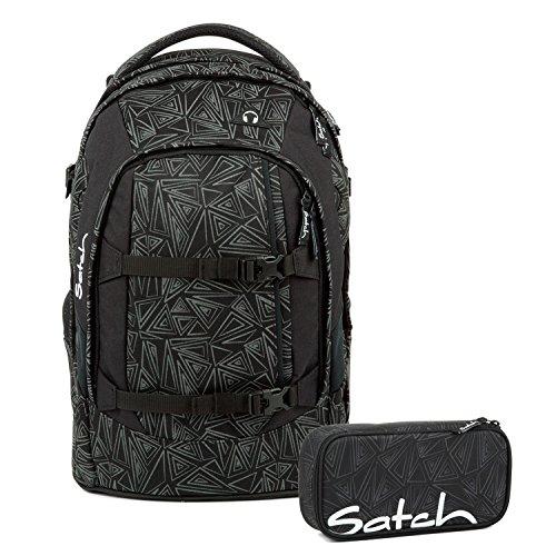 Satch Pack Ninja Bermuda Schulrucksack Set 2tlg.