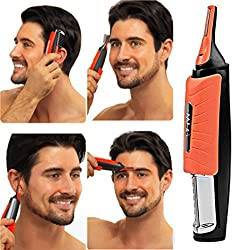 Aoile Mens Electric Shaver 2 in 1 Facial hair remover Safe Multi-Functional Electric Shaver Hair Remover Hair trimmer
