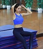 DACHUI Women's Sport Yoga Bra Running Jogging Fitness High Impact Racerback push-up