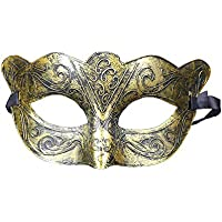Hosaire Halloween Maschera Vintage Stile Semplice Maschera Deguisement per  Soiree Maschera da Ballo Halloween Parte Festa 1130e853b3cf