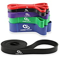 Bandas de Resistencia Coresteady   Banda de Resistencia para dominadas   Bandas de entrenamiento para CrossFit - Powerlifting - Yoga – Ejercicios de Estiramientos (Se venden por separado) para hombres y mujeres