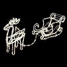 Weihnachtsbeleuchtung Schlitten.Suchergebnis Auf Amazon De Für Weihnachtsbeleuchtung Aussen Rentier