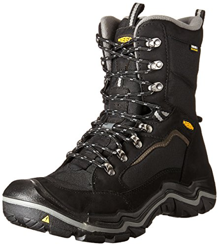 KEEN Durand Polar Shell Shoe para hombre, Black Olive / Brindle, 9.5 M US
