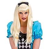 Alice peluca rubia del cuento de hadas del vestido de lujo ...
