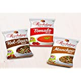 Richday Instant Soup Combo Offer: 10 Packets Of Each Flavor Contains 15 Grams Per Pack
