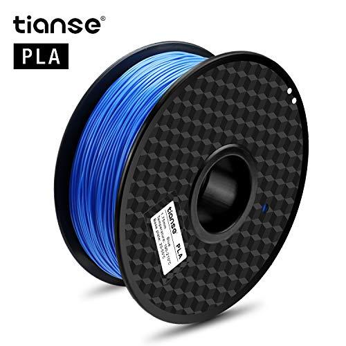 TIANSE 1KG Azul Filamento PLA impresora 3D / Pluma