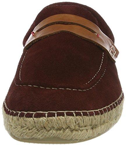 Hudson London Herren Juan Suede 41 Chelsea Boots Rot (Burgundy)
