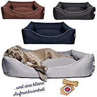 Tante Hilde Hundebett, Hundekorb Norderney für kleine XL, mittlere XXL und große XXXL Hunde, Waschbar, Robust - Hochwertige Qualität!