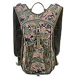 LUCKGXY Großraumreiteinbruch, Camouflage Tactics Oxford Cloth Mountaineering Bag 25 * 15 * 45cm für die Reise Camping Wanderjagd, Etc,I
