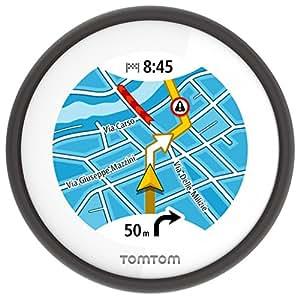 Tomtom Vio Navigatore per Scooter con Navigazione Dettagliata, Avvisi su Autovelox, Visualizzazione del Chiamante, Nero