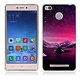 Fubaoda Xiaomi Redmi 3 Hülle, Xiaomi Redmi 3S Hülle, Schöne Aurora Night Series TPU Case Schutzhülle Silikon Case für Xiaomi