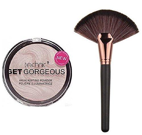 technic-get-gorgeous-highlighting-powder-12g-lydiar-large-rose-gold-fan-cheek-blending-contour-highl