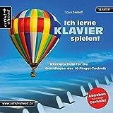 Ich lerne Klavier spielen! Klavierschule für die Grundlagen der 10-Finger-Technik (inkl. Download). Lehrbuch. Musiknoten für Piano.