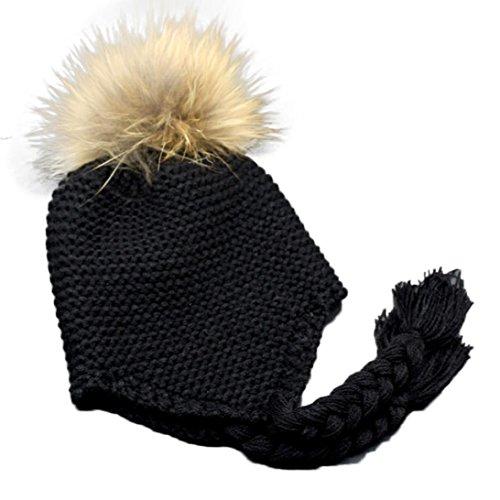 Longra Kleinkind Baby Earmuffs gestrickte warme Winter Baby Jungen Mädchen Kappe (Tracht Von Tracht Australien)