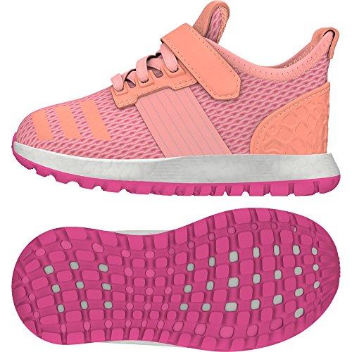 adidas Pureboost Zg I, Baskets Basses Mixte Bébé Rose - Rosa (Rosimp / Ftwbla / Brisol)